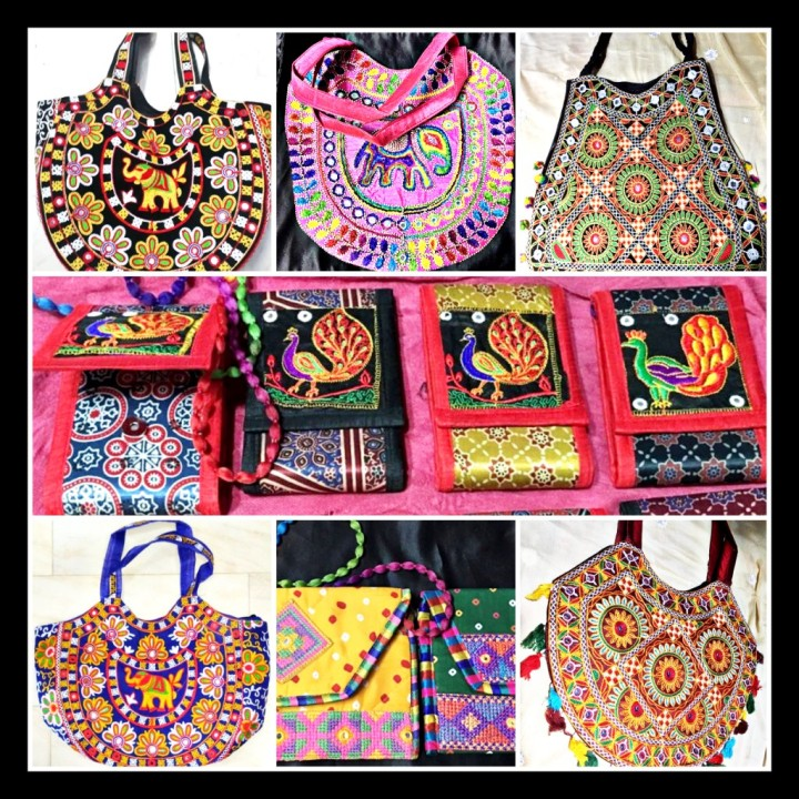 """Phulkari Bags"" Is Not Just A Bag But A Pride Of India's Rich Cultural Heritage"