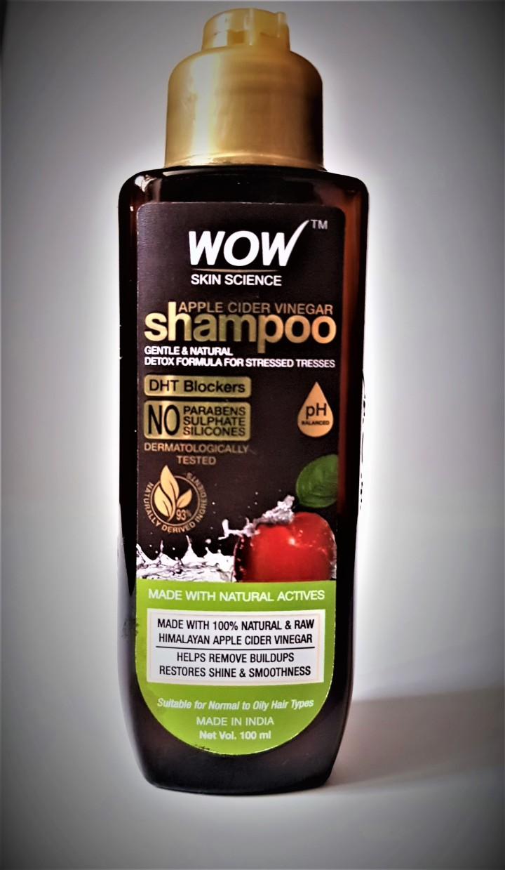 WOW Skin Science Apple Cider Vinegar Shampoo Review!!