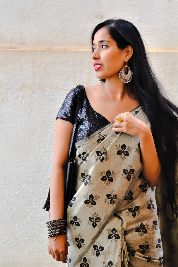 Bloom This Summer In Printed CottonSarees